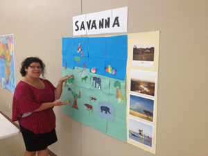Finished Savanna.
