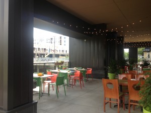 The gorgeous patio where our event will be held!