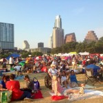 Blues on the Green: a free blues concert every other week in the park; thousands of people attended!