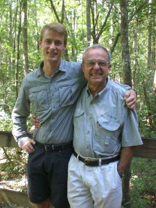 Norman Brunswig: The executive director and founder of Audubon at Francis Beidler Forest.