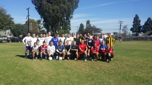 The delightful community of soccer players!