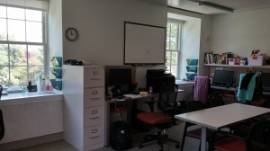 New Lab office within Stuit Hall