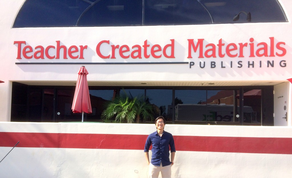 In front of TCM Building - Picture taken by Jared. Thank you TCM!