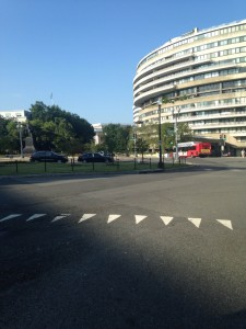 Picture of Watergate on my last day