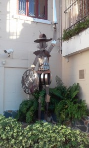 Ponce statue of Don Q