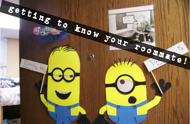 minions getting to know your roommate