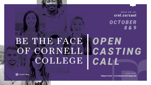 Are You The Next Face of Cornell?