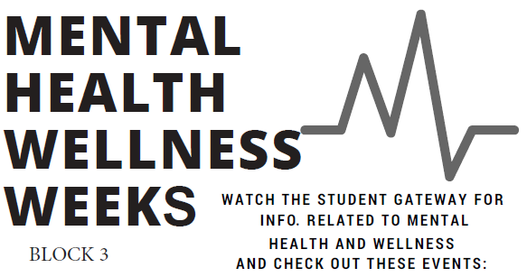 "It's time for Mental Health Wellness Weeks! Concerned About a Friend?  Friends supporting each other through both good and bad times is part of mental health wellness.  Wondering what you can do to help a friend who may be distressed, depressed, or thinking about suicide? Click here for information, suggestions and resources and stop by the … <a href=""https://blogs.cornellcollege.edu/studentlife/archives/3102"" class=""more-link"">Continue reading <span class=""screen-reader-text"">Mental Health Wellness Week!</span> <span class=""meta-nav"">→</span></a>"
